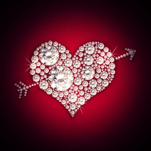 Diamond Heart Design - 123RF Tutorial